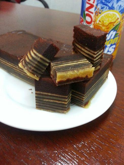 Kek Lapis Coklat