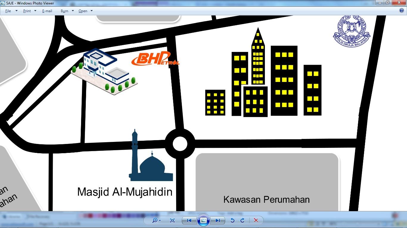 Peta For Kad Kawin Wedding Prep Peta Map